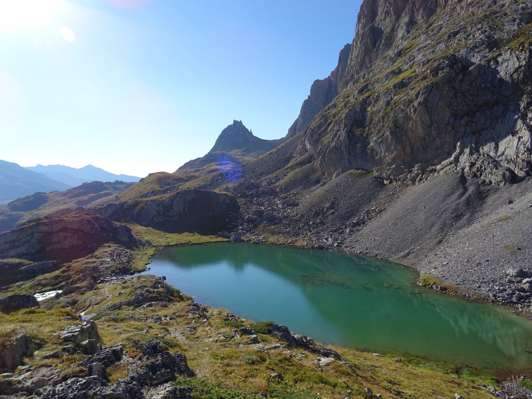 uno dei tre laghi Rochilles