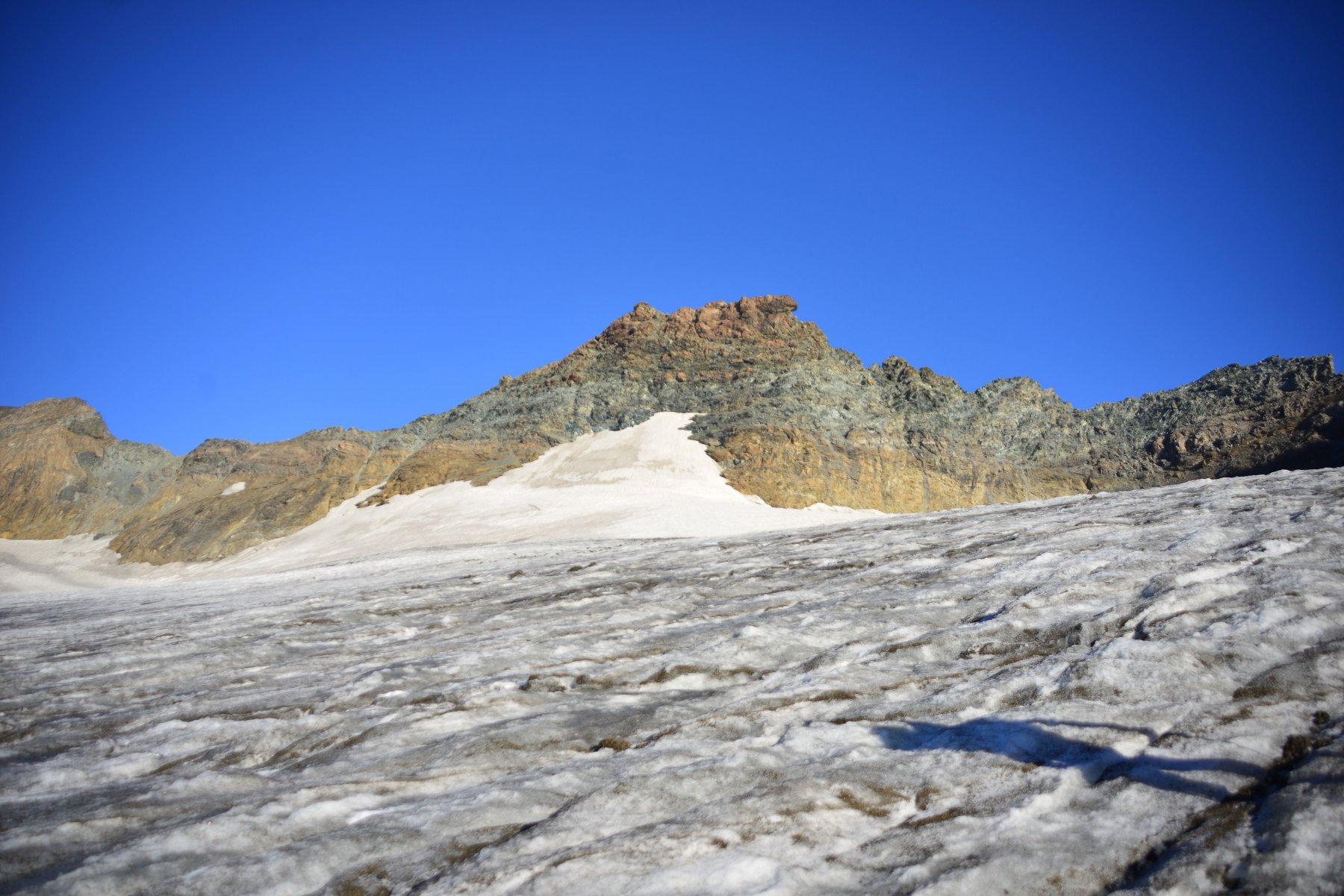 sopra il ghiacciaio