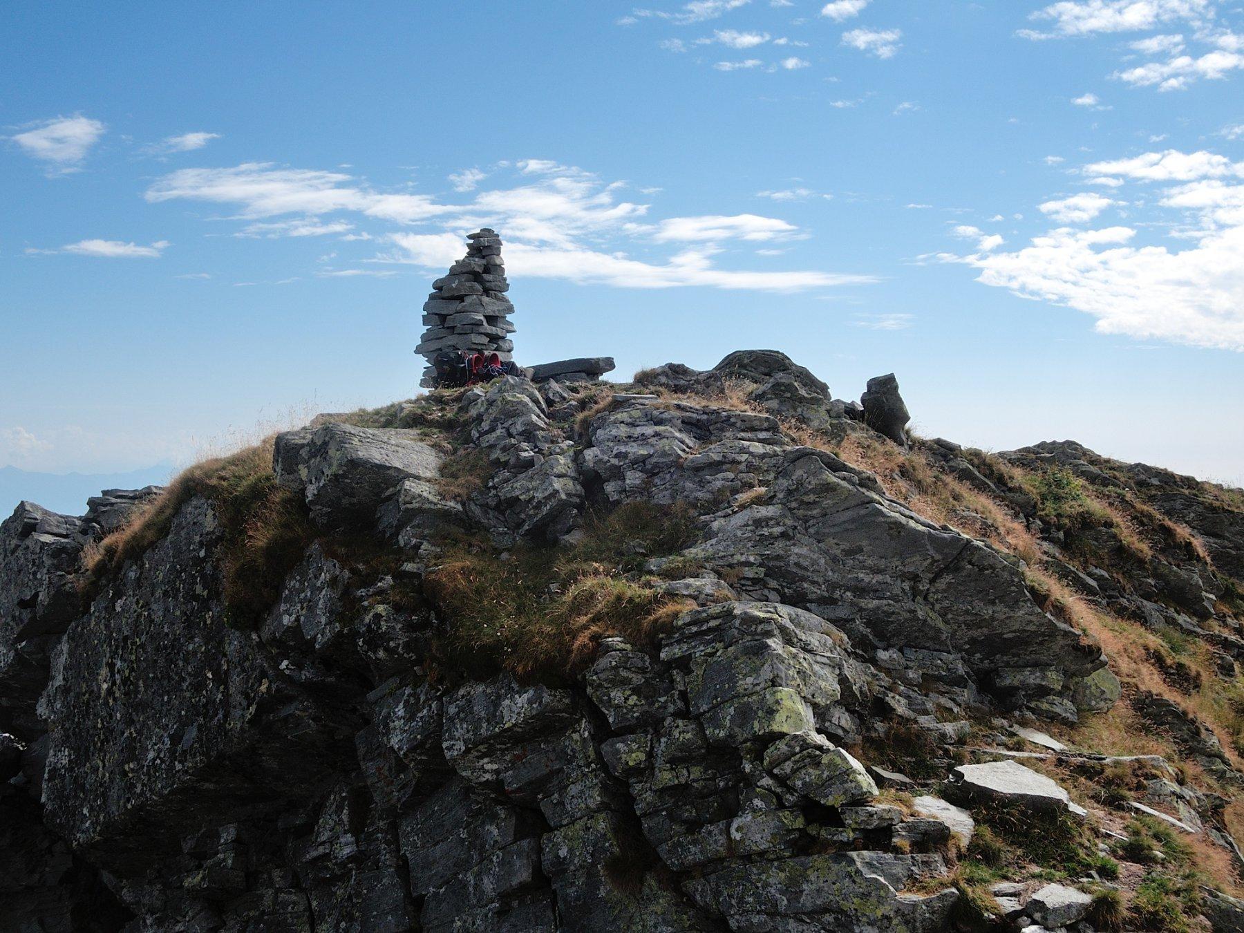 La cima vista da Nord-Ovest