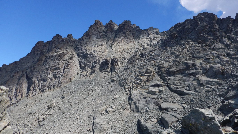 Granero (Monte) da Pian del Re per il Passo Luisas 2016-09-11