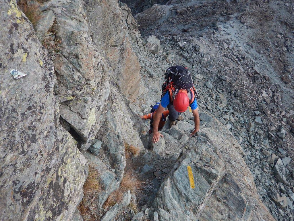 Facile arrampicata