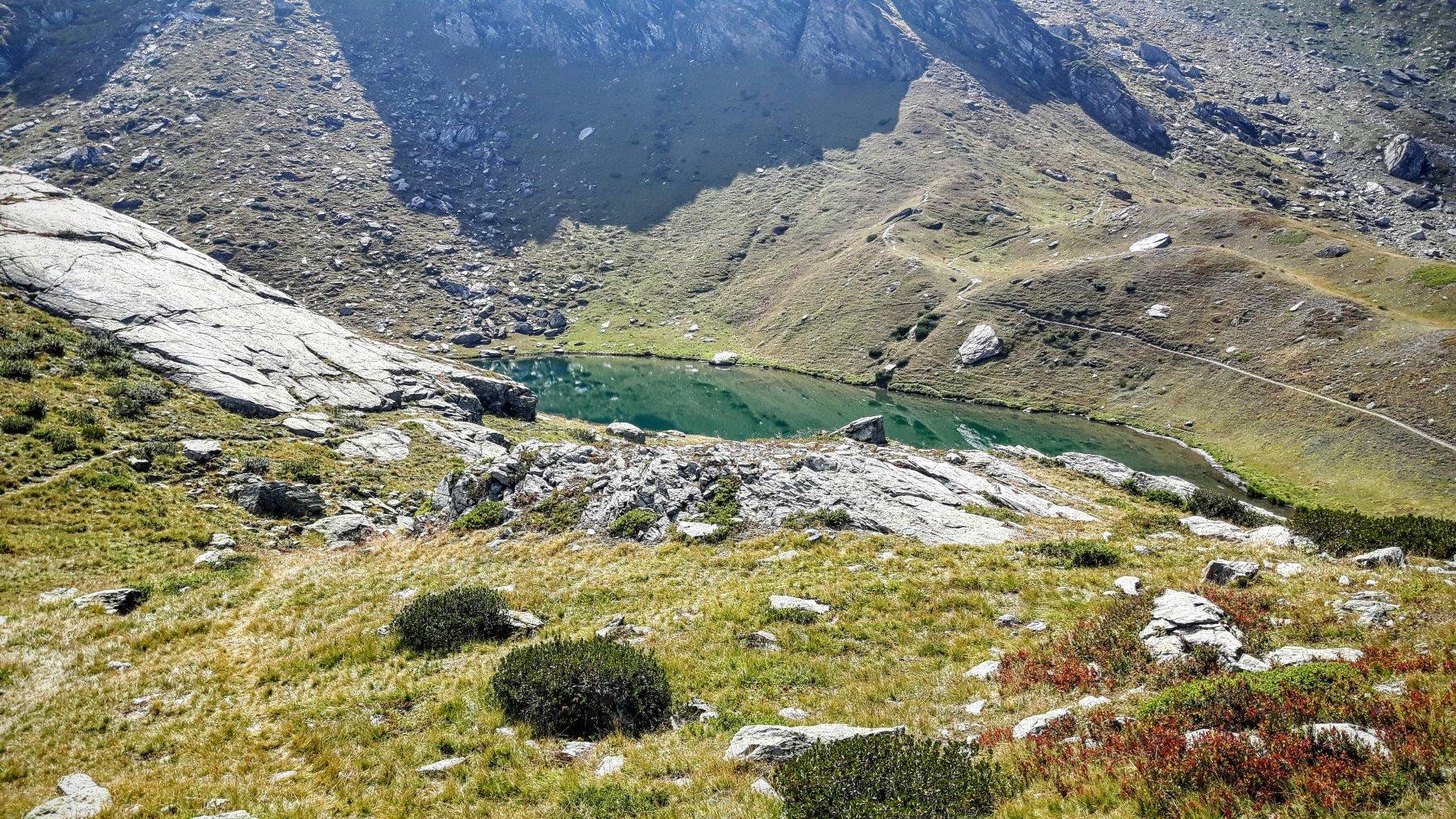 il lago al Rifugio Granero