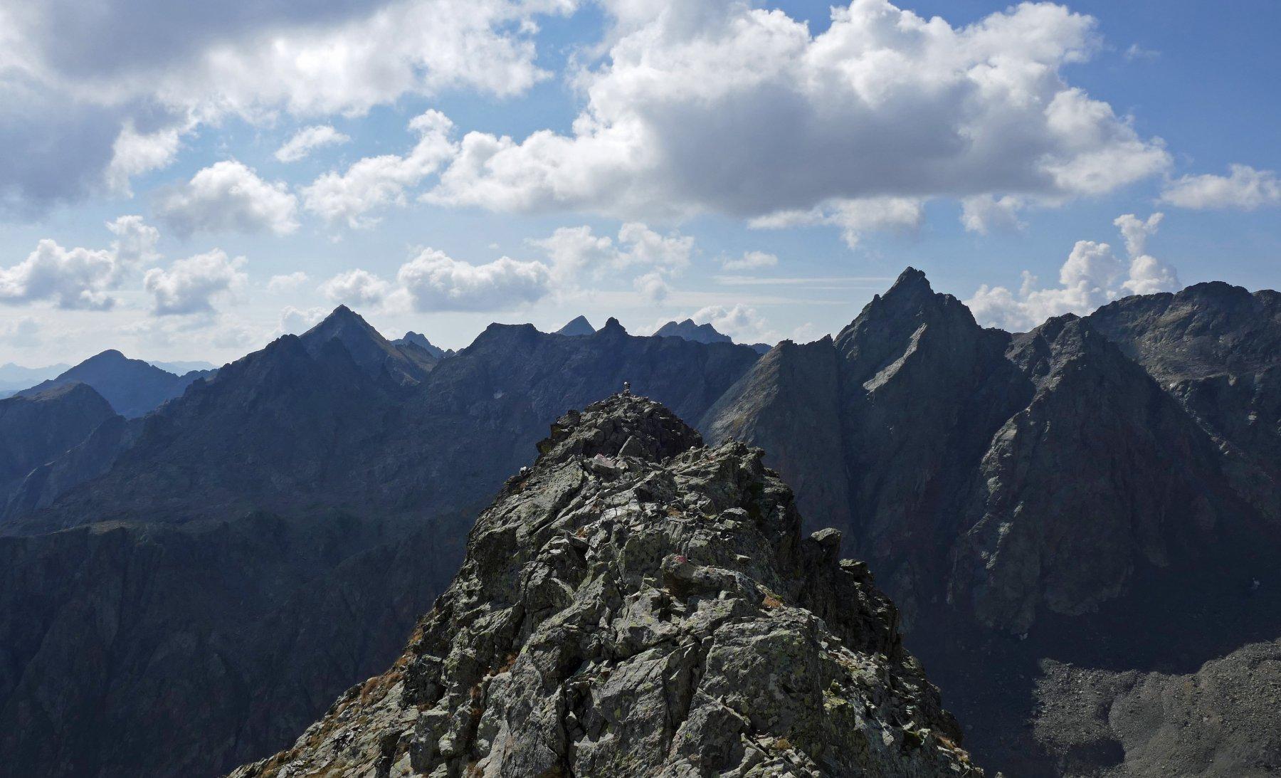 Parte della cresta per giungere alla cima...