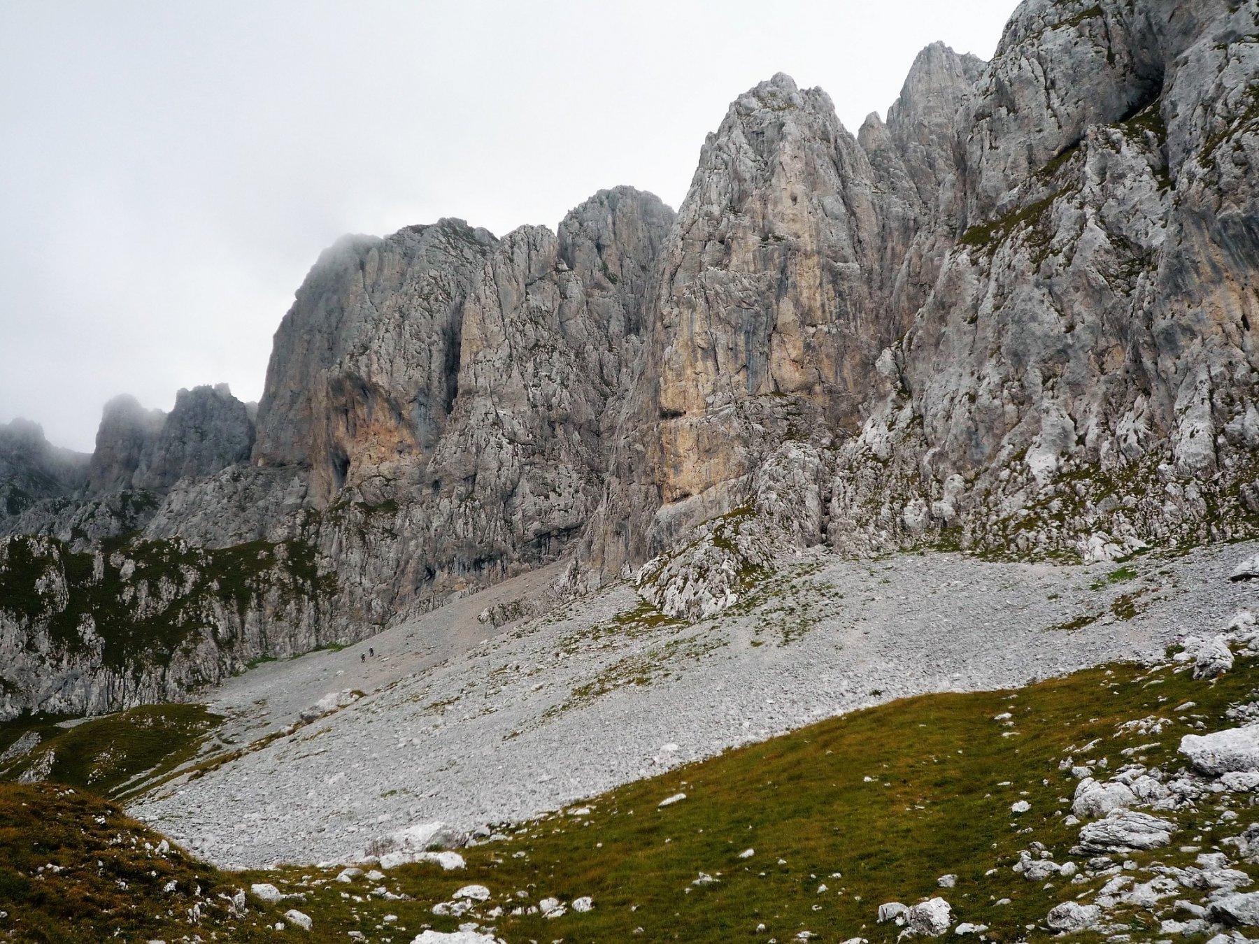 Presolana ed escursionisti fuori rotta dalla normale