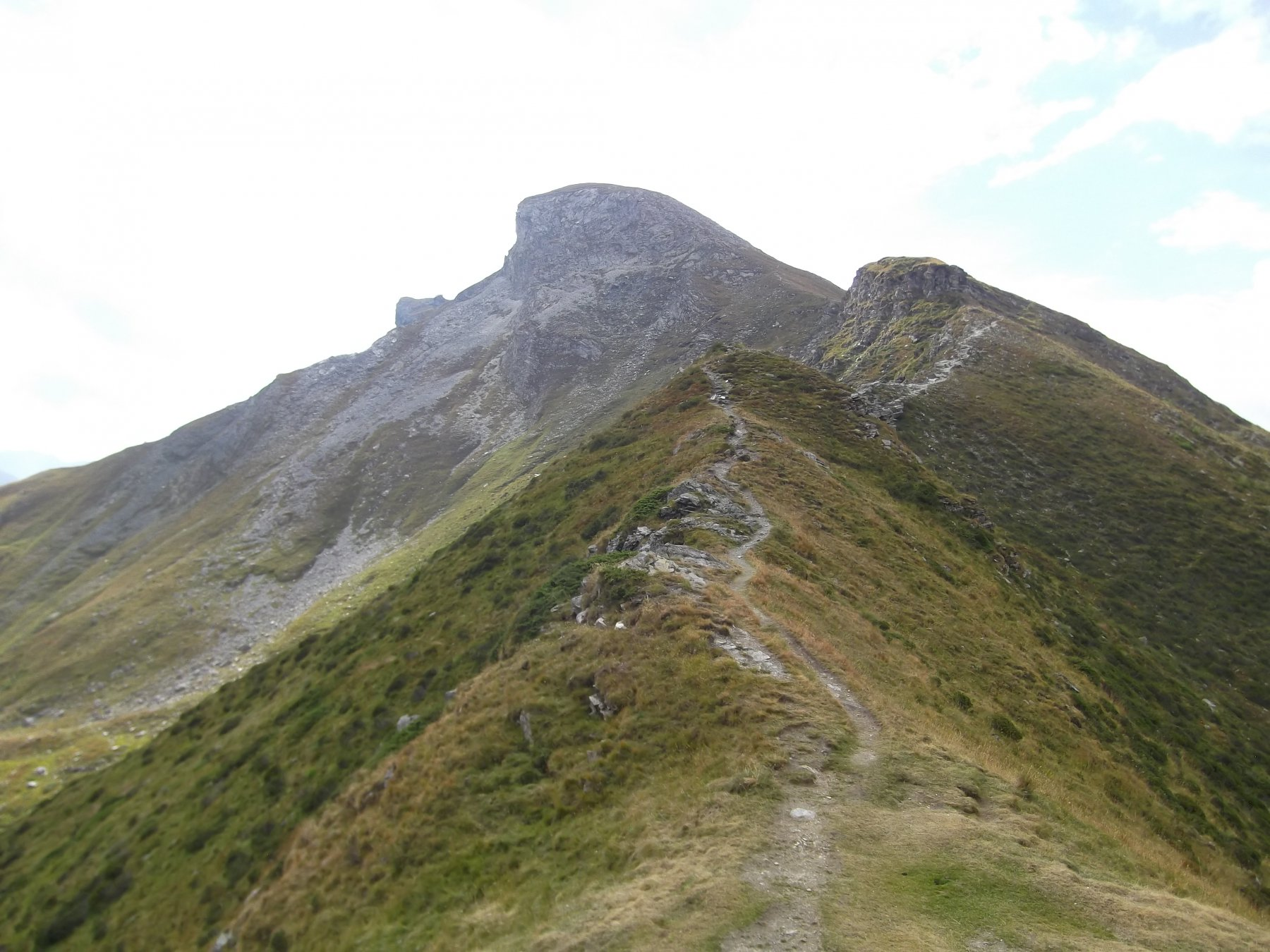 La cresta dalla Finestra.