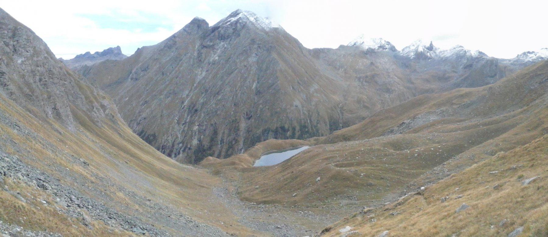 il lago Lavodilec dall'alto...