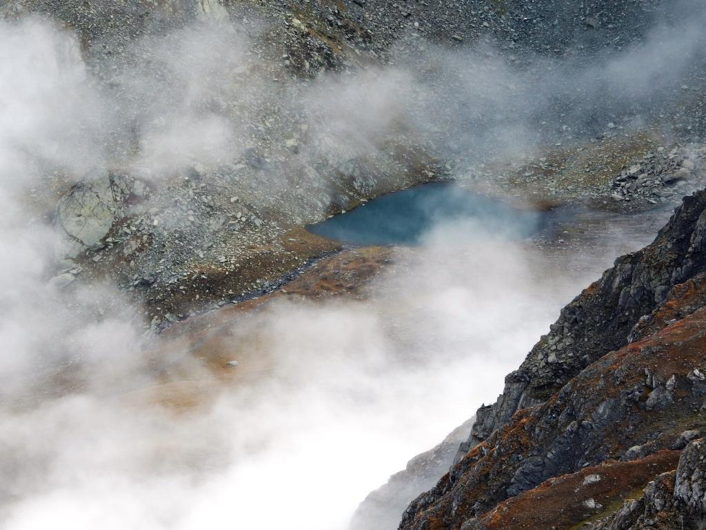 il Lago Porcieroles dalle R.che del Castello