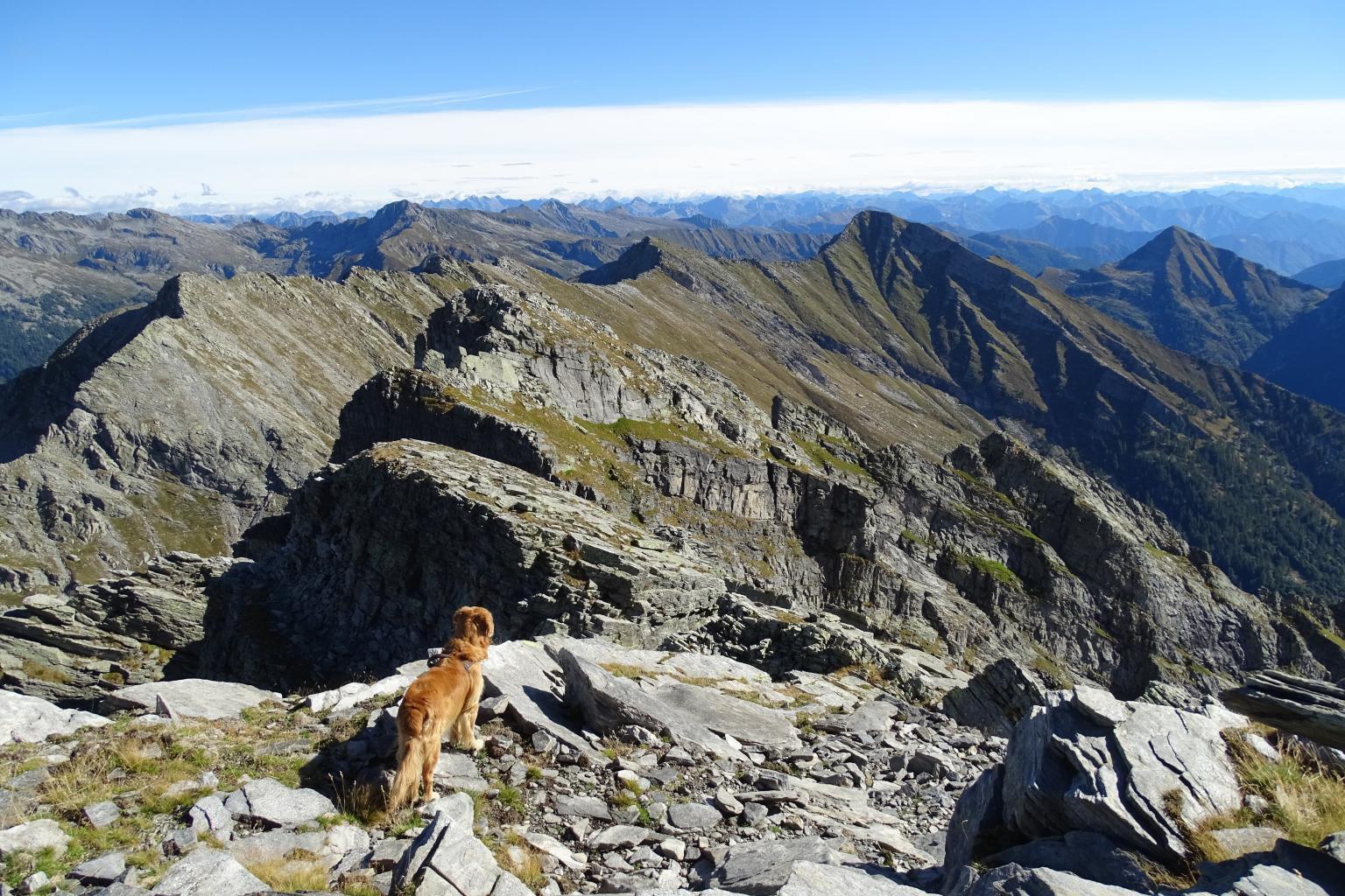 bel panorama sui monti della Val Vigezzo
