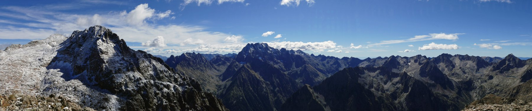 Panoramica dal colle di Valmiana