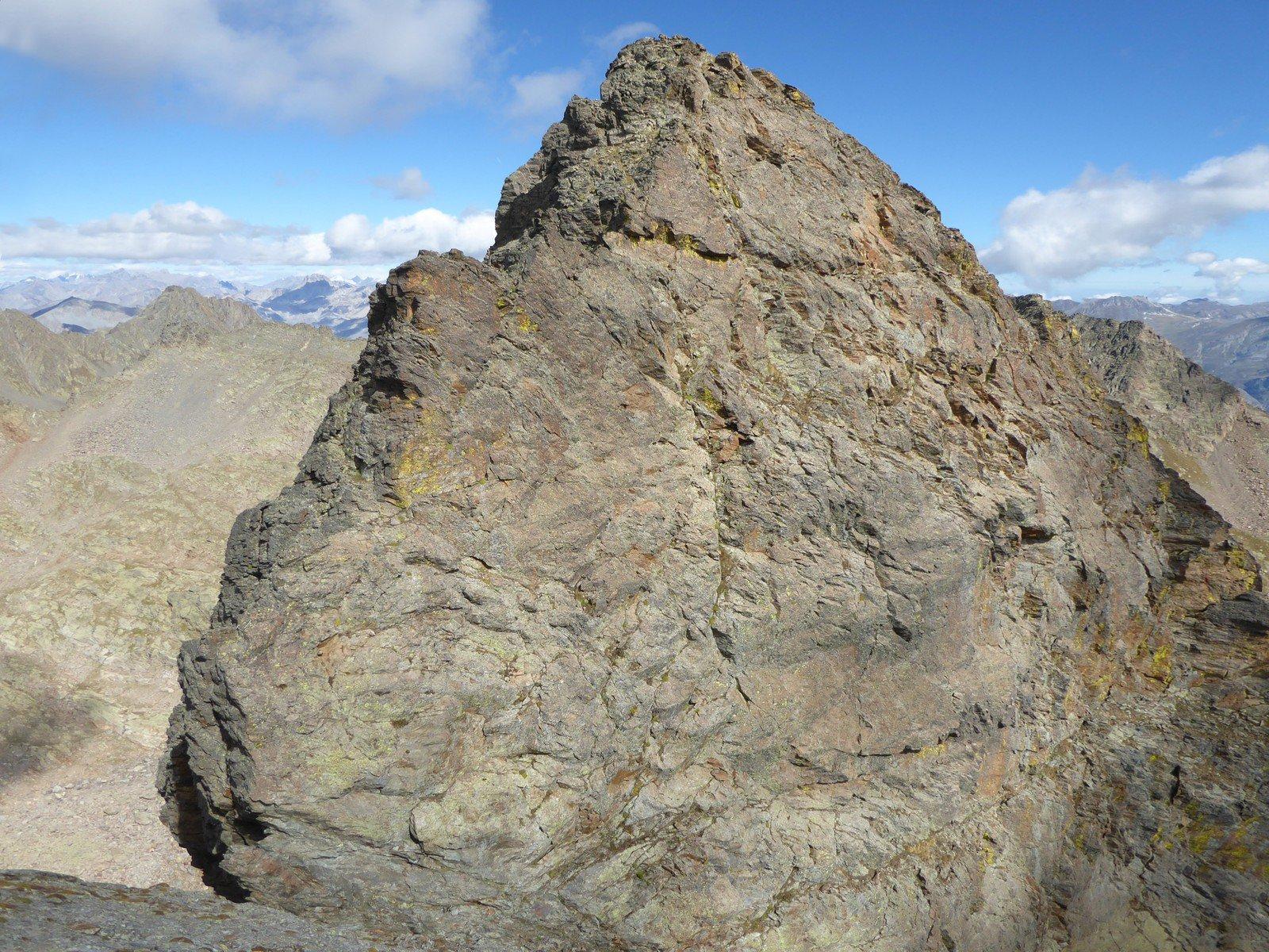 la cima Burnat salendo al Bec del Vir