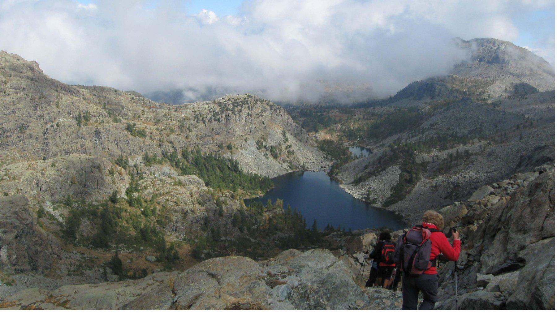 Lago Cornuto e Lago Nero