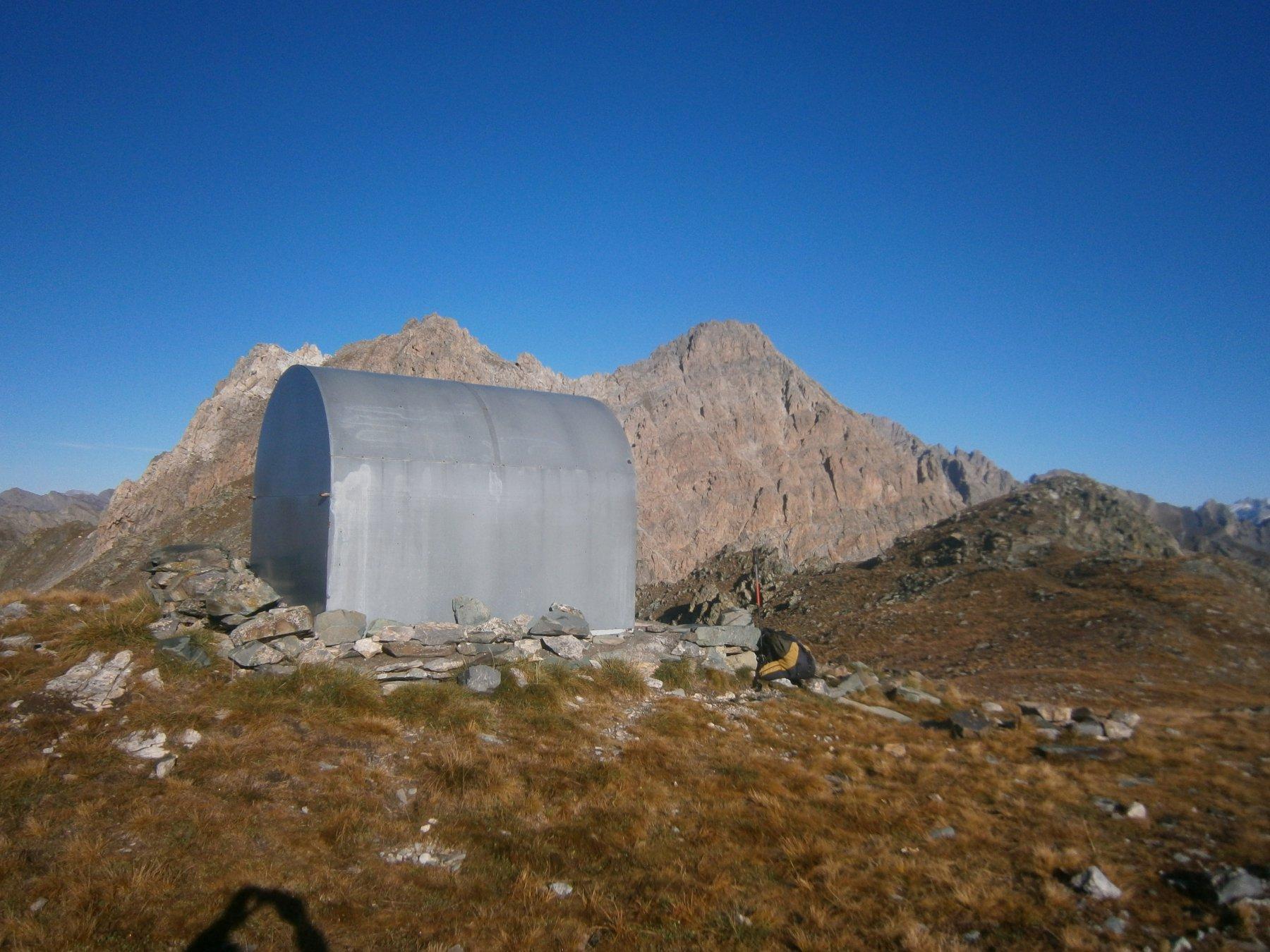 Rocca Peroni dal bivacco 2 Valli