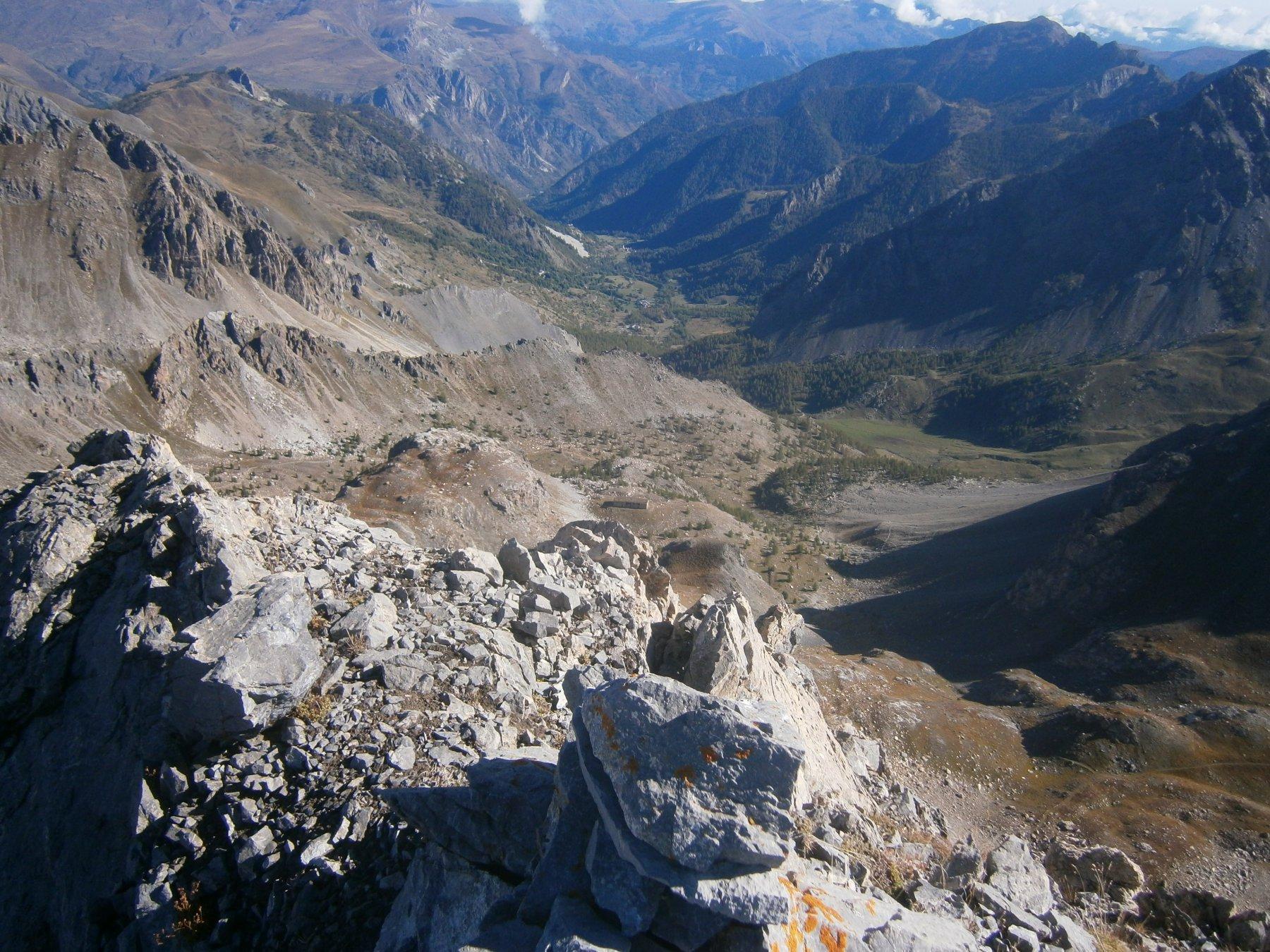 Vallone di salita da Rocca Peroni