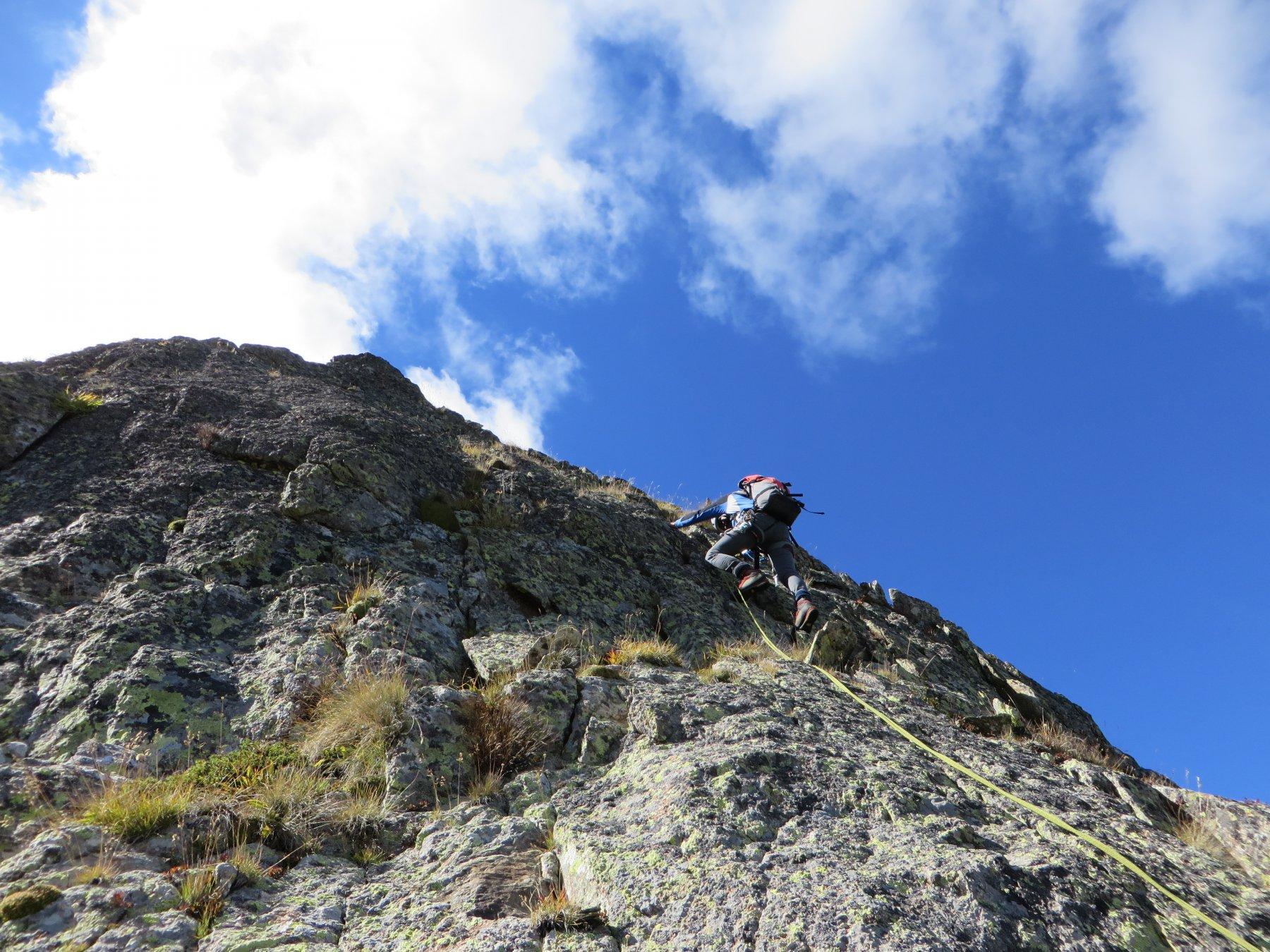 San Bernolfo (Rocca di) Cresta Nord-Est 2016-09-22