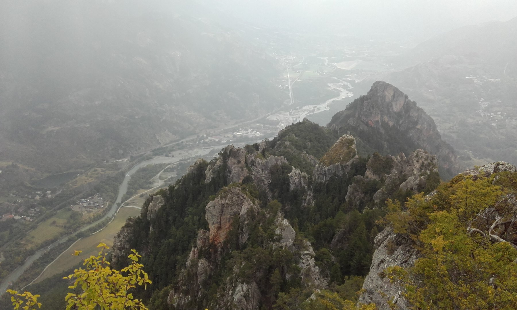 Anon (Col d') da La Roche de Rame, per il Lac Lauzes 2016-09-24