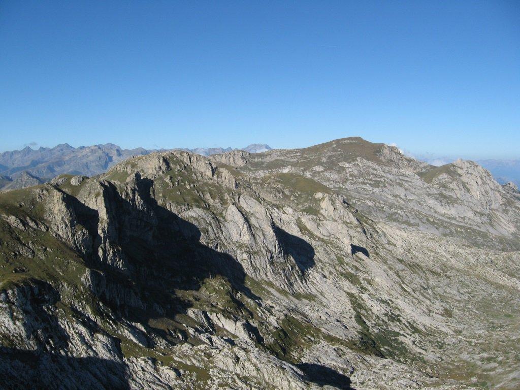 Panorama dalla Cima Scarason