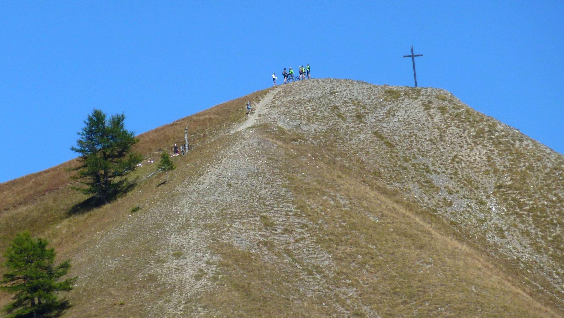 salita alla croce di san giuseppe