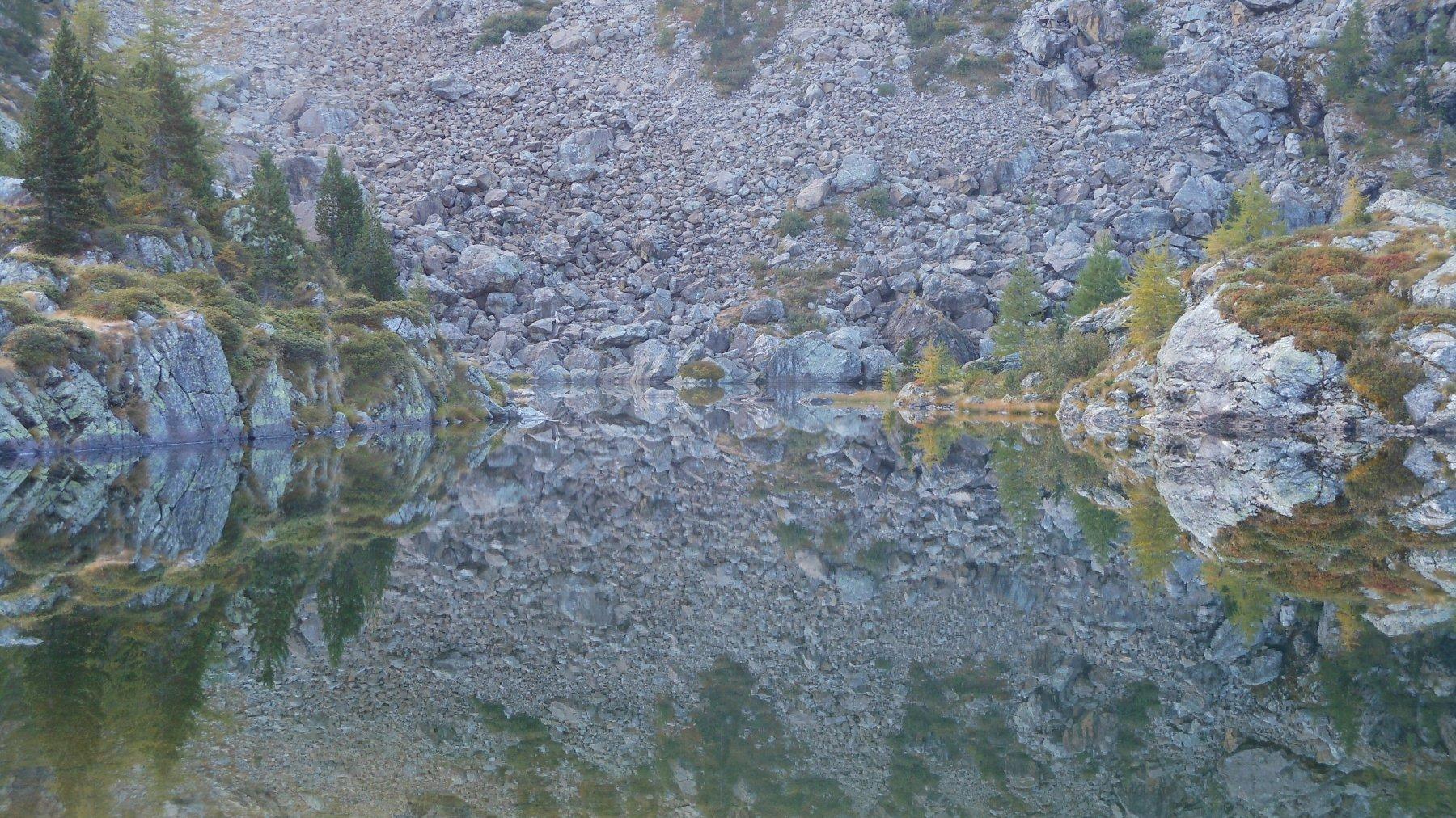 Specchio perfetto - Lago di Leser