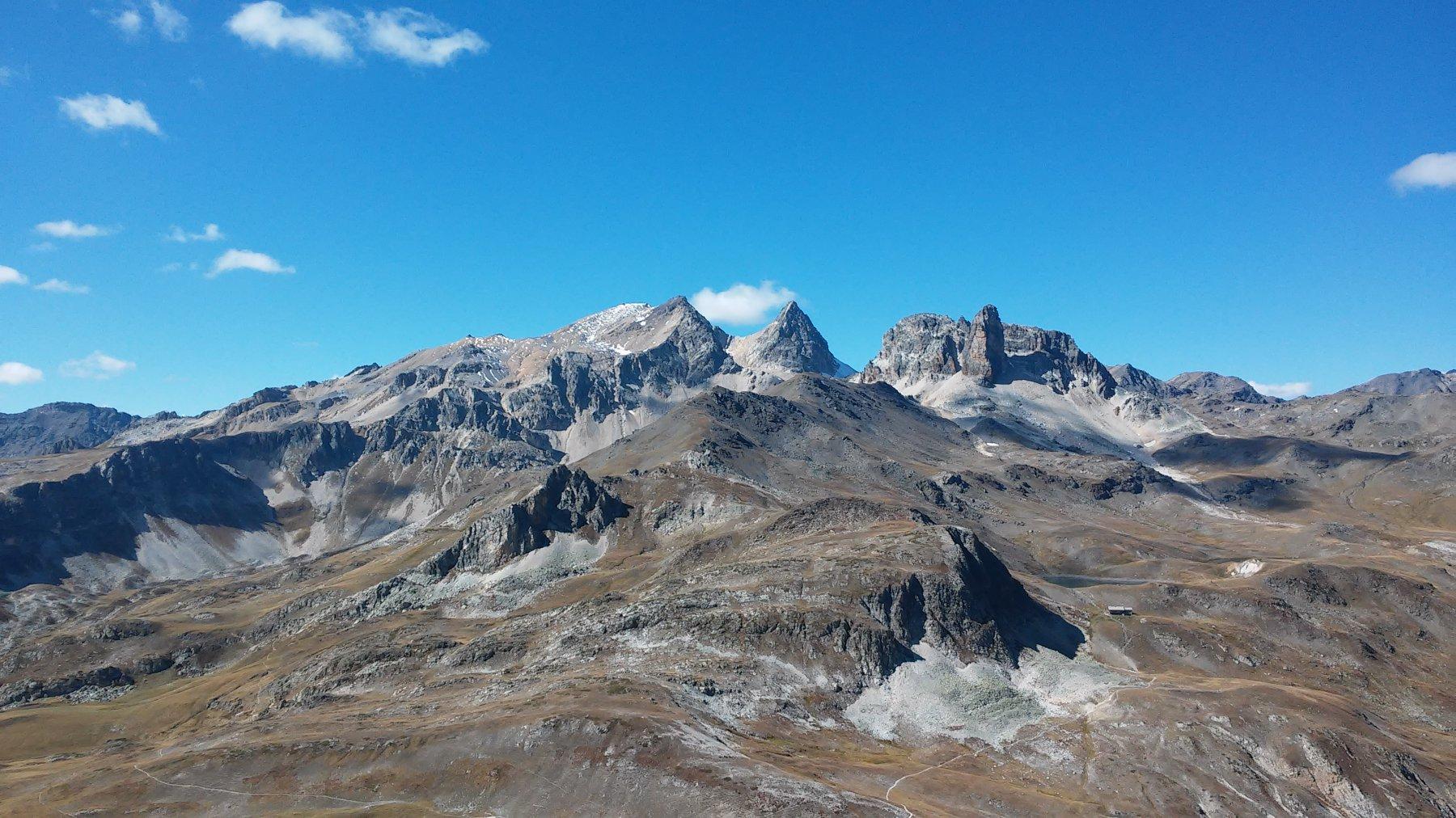 Planetta (Cima) o Punta di Valle Stretta (la Gringoil) da Grange di Valle Stretta 2016-09-25