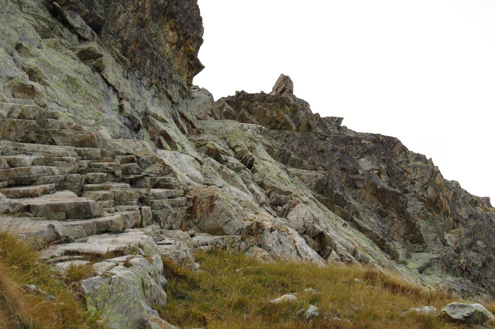 Valrossa (Cima Centrale di) Cresta NO dal Colle del Filo di Ferro 2016-09-27
