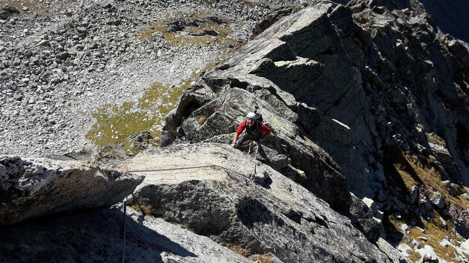Balzetto (Pizzo) cresta sud-sud/ovest 2016-09-29