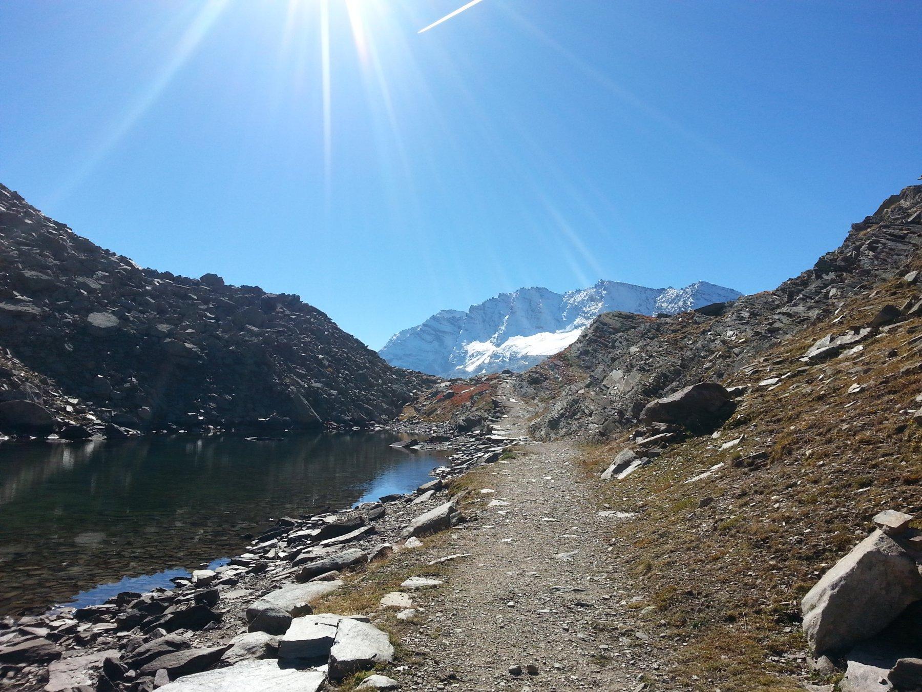 Rocchetta (Punta) e Colle della Terra anello per i laghi Losere e Lillet 2016-09-29