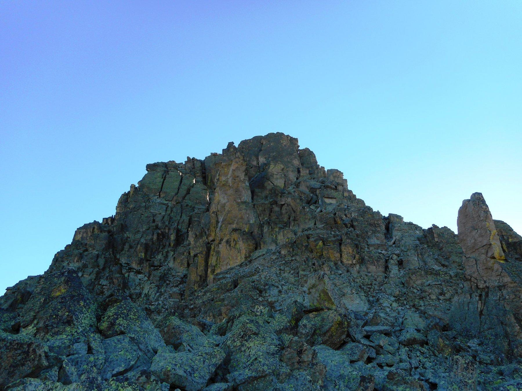 la cresta dal passo del ranco