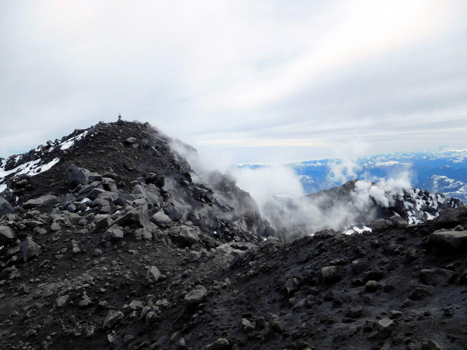 Chillan Viejo y Nuevo (Volcanes) Via normale del Terme di Chillan 2016-10-01