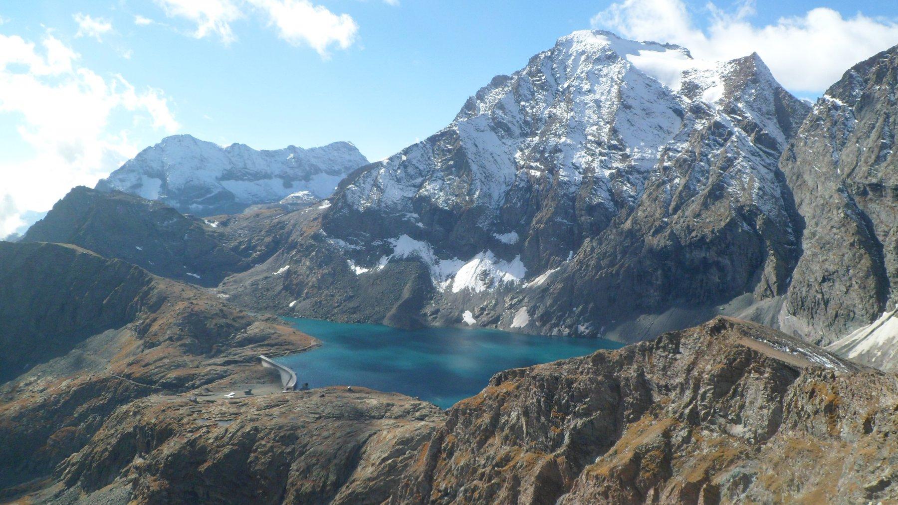 Fortino (Punta), Cresta del Fort dall'Alpe Barnas per il Lago della Rossa 2016-10-02