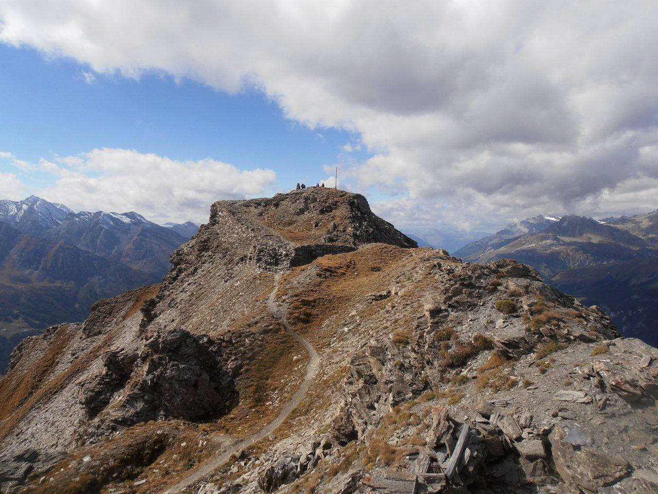 Froid (Mont) dal Refuge du Petit Mont Cenis 2016-10-02