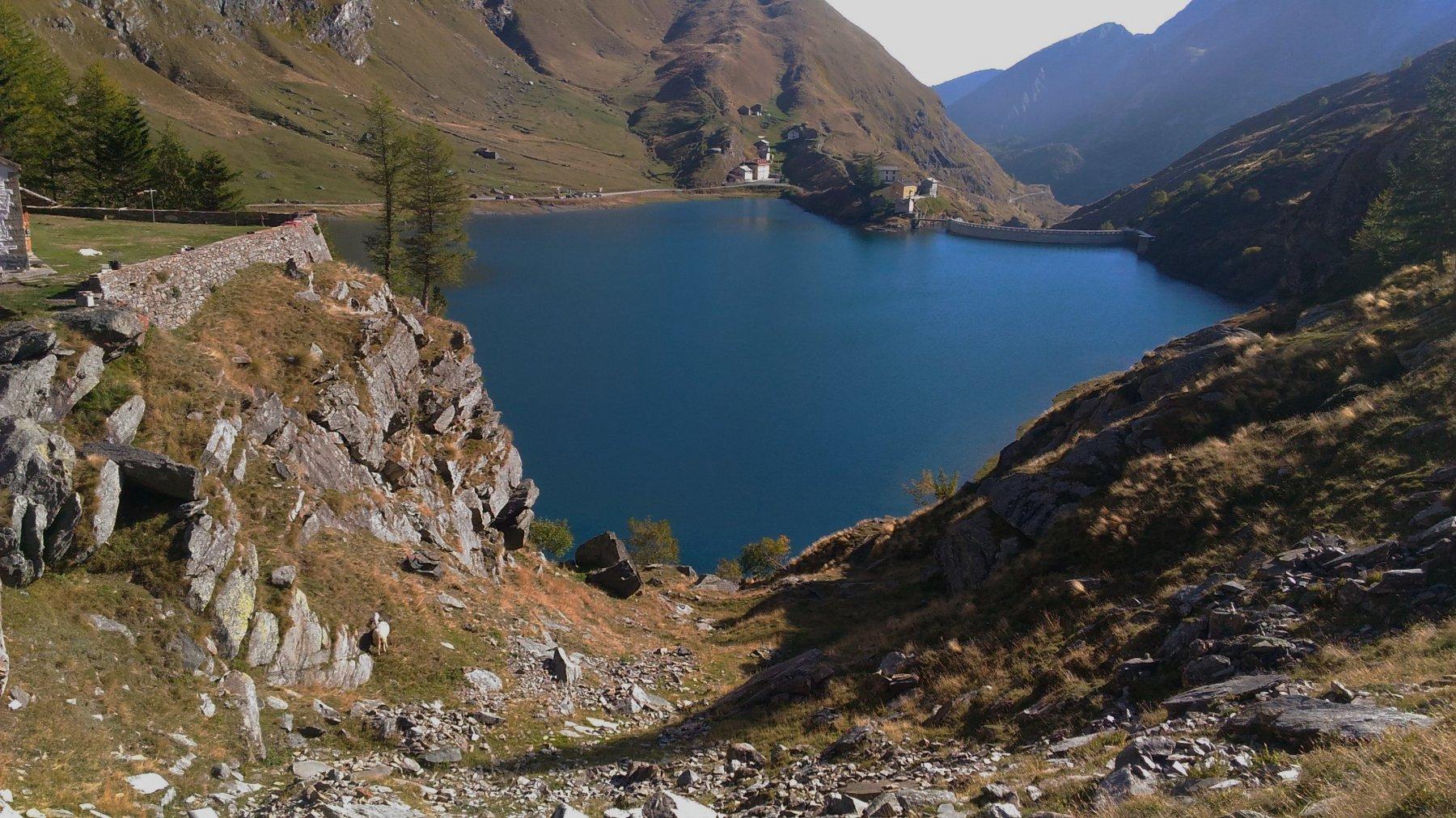 vista del Lago dall'alto