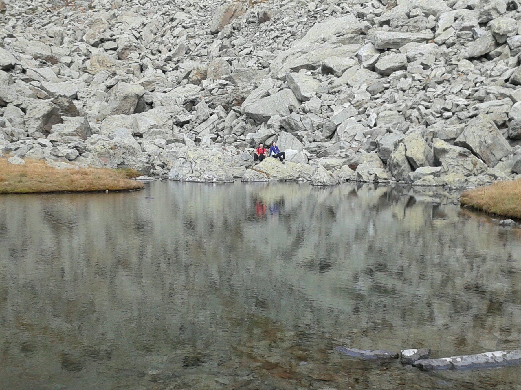 lago Servin o delle tre pietre