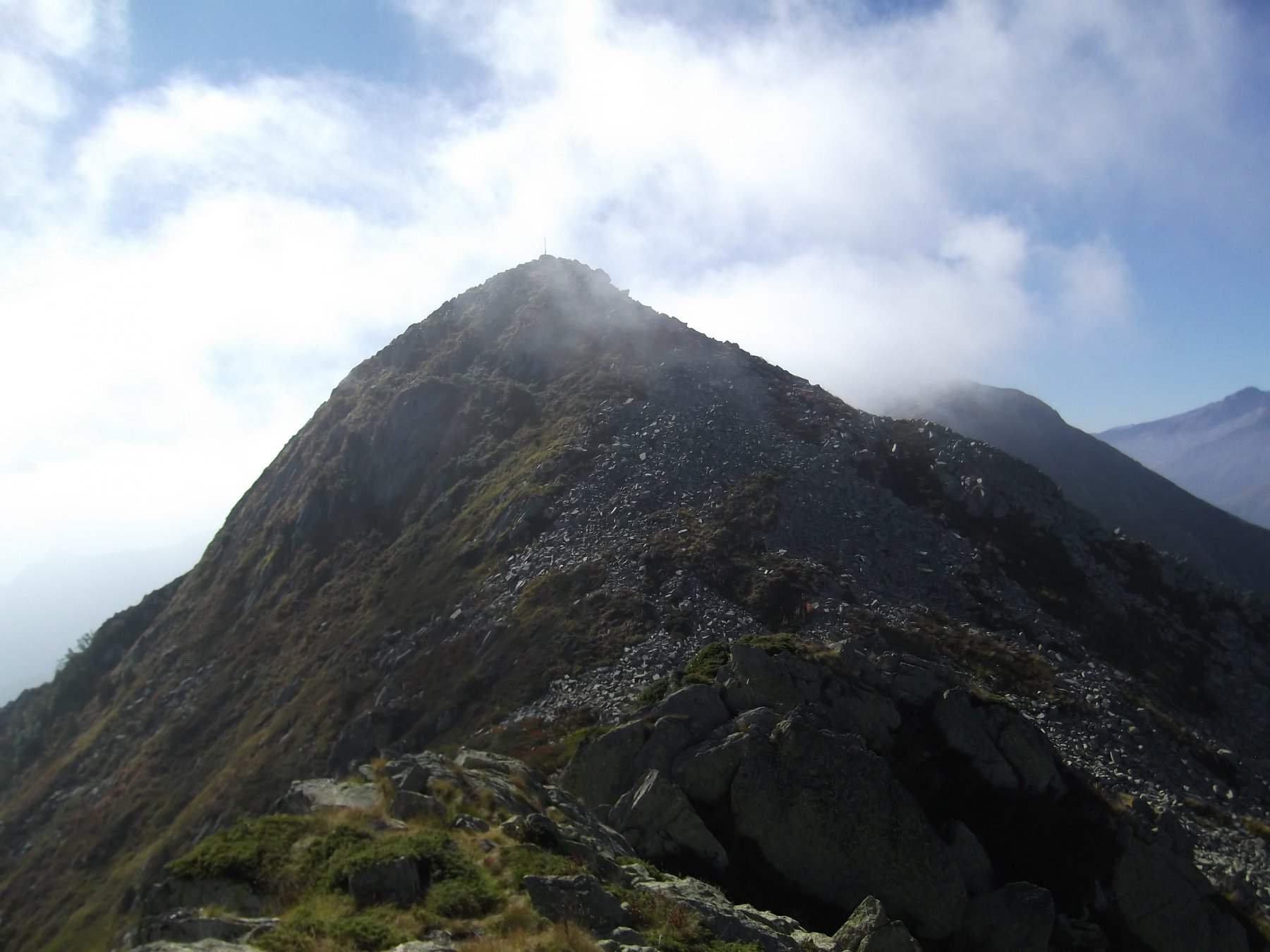 La Besimauda dalla cima nord.