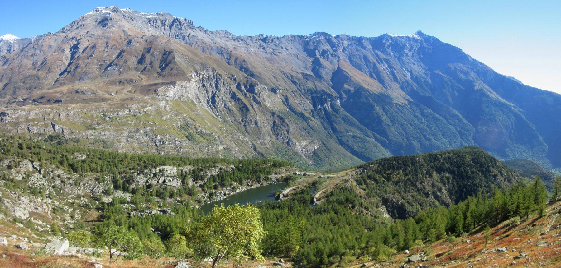 Lago d'Arpon con sullo sfondo a dx il Rocciamelone