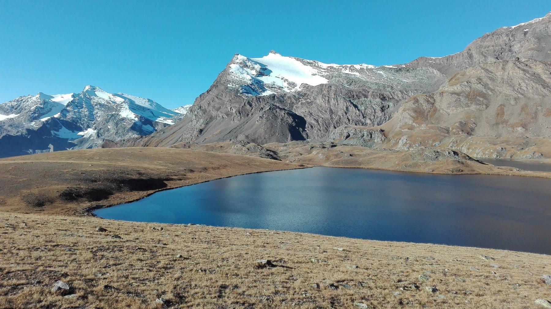 Punt Basei dietro il lago Rosset