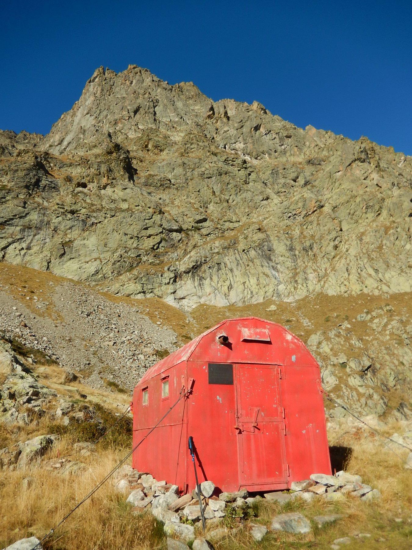 La cima dell'Asta Sottana dal Bivacco Costi/Falchero