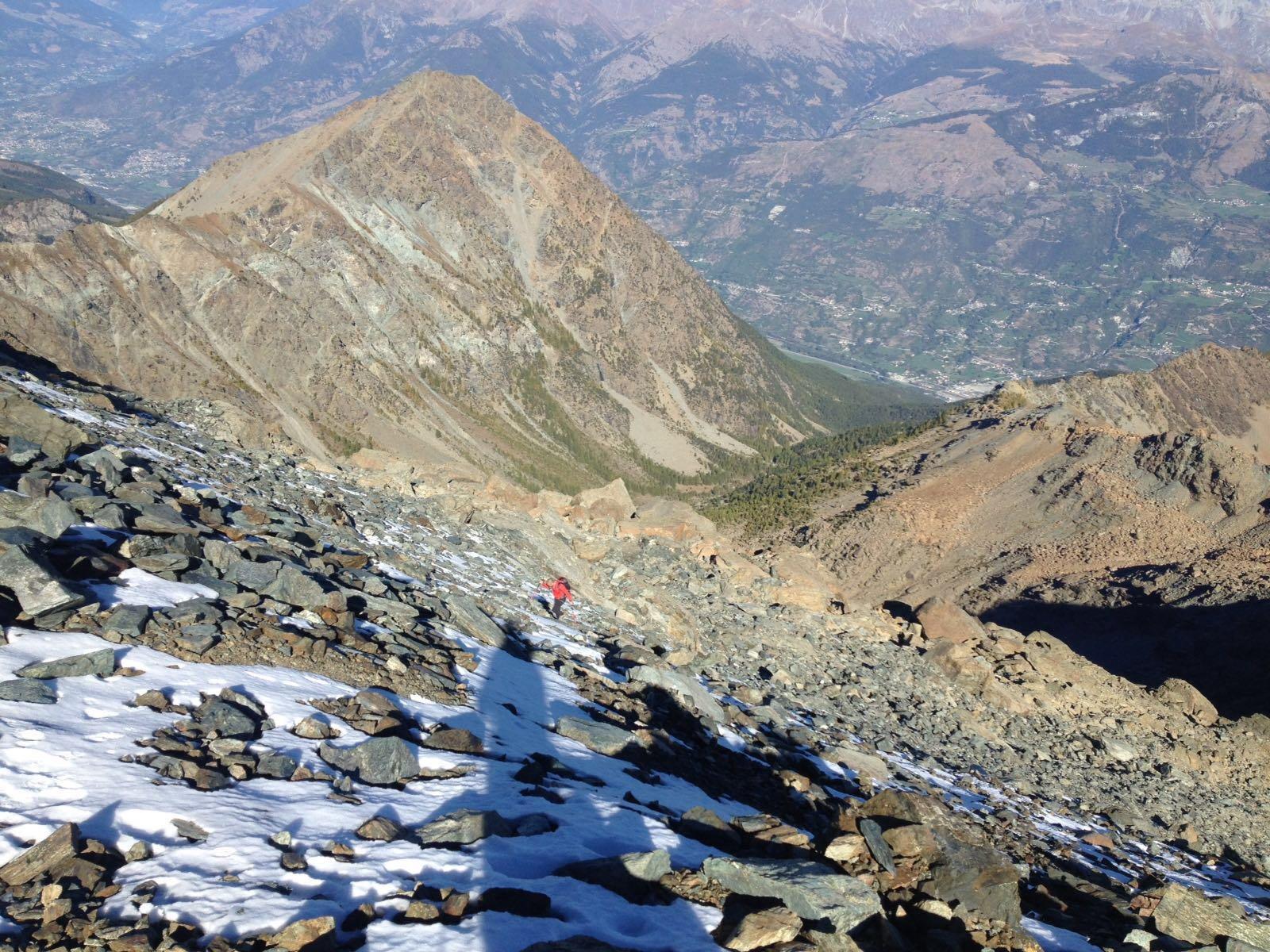 Avic (Monte) traversata Versante NE -Cresta Ovest 2016-10-05