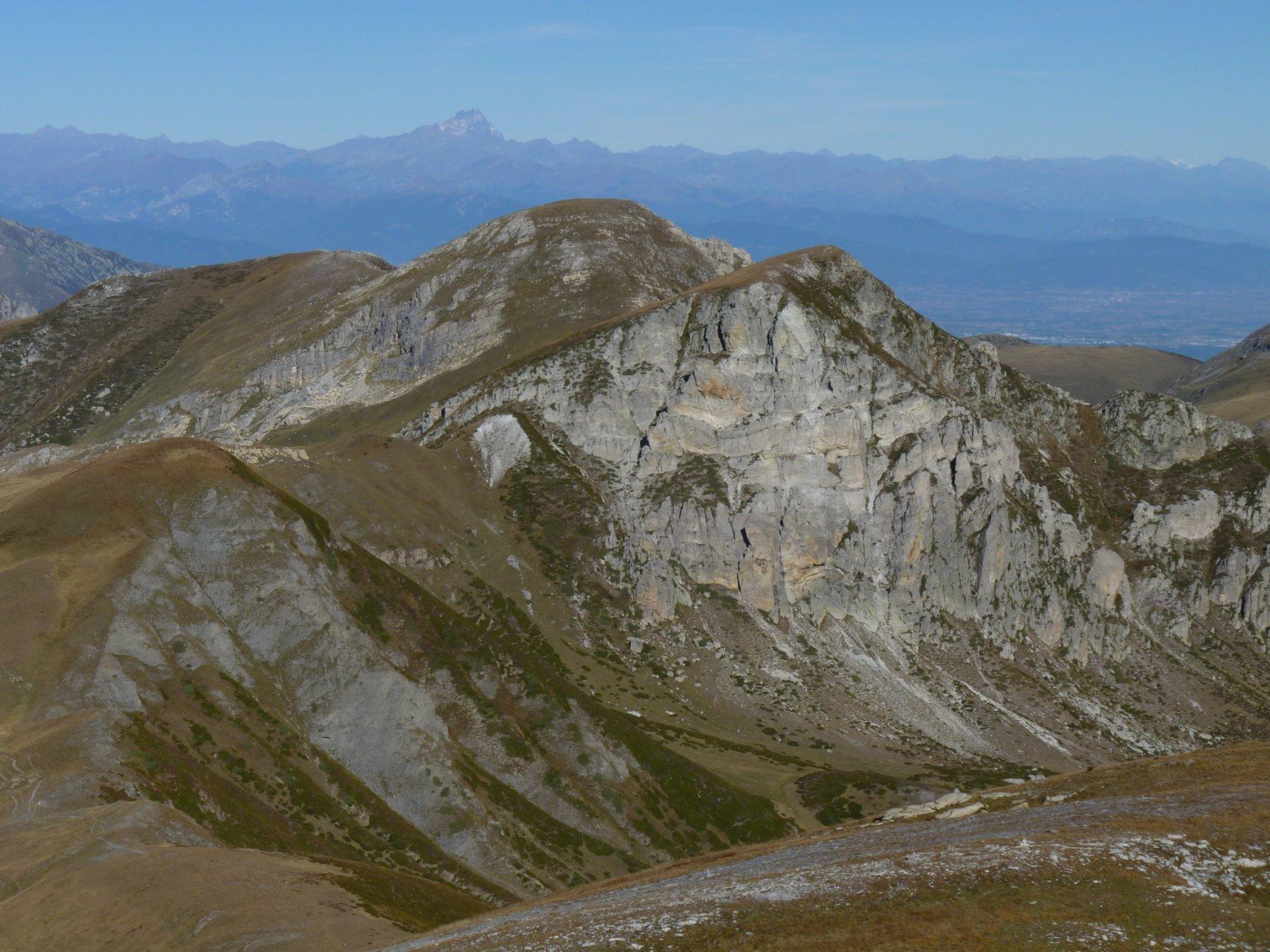 dorsale verso la cima Seirasso