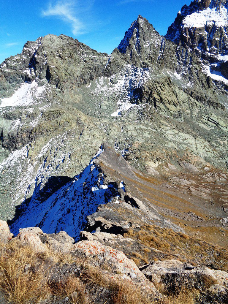 Gastaldi, Visolotto e cresta che scende al Passo Vallanta