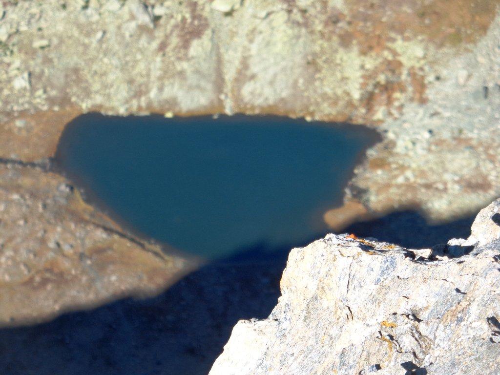 dalla cima il Lago Lestio