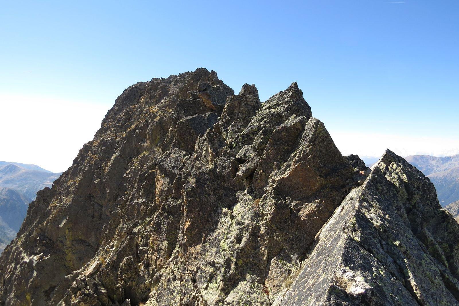 Saint Robert (Cima) cresta Nord-Est 2016-10-07