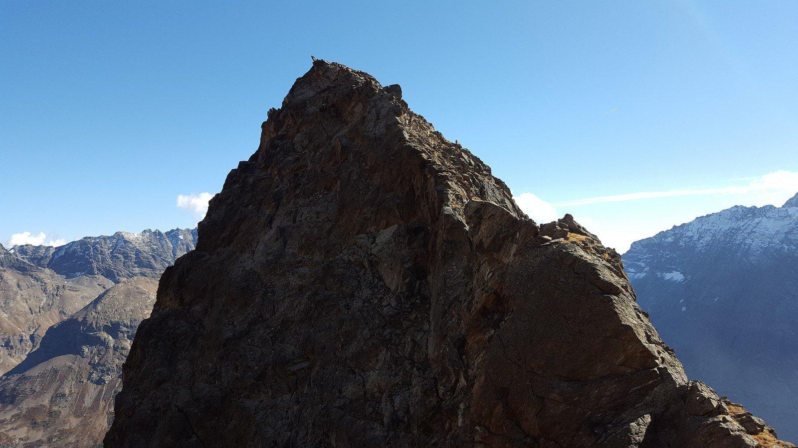 La cresta NO della Gerlach