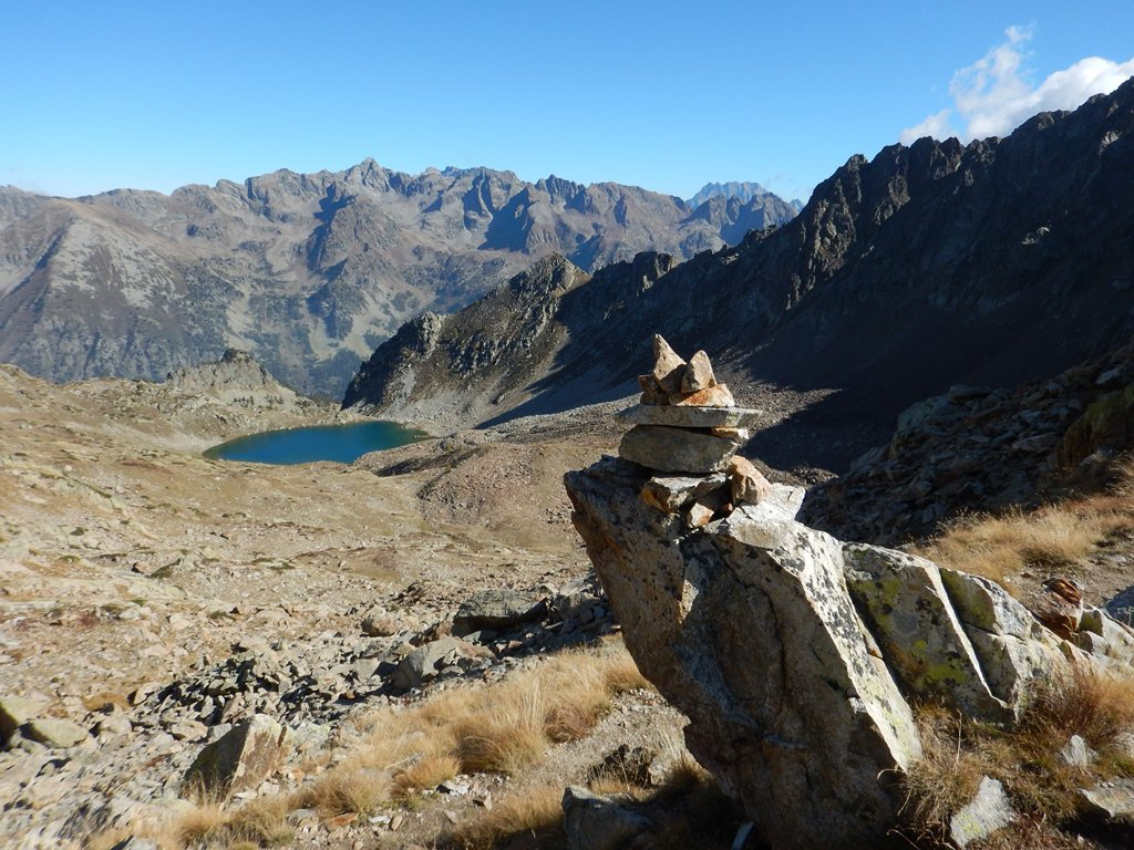 Gias dei Laghi (Testa), anticima SO 2701 m Via dei Principianti 2016-10-08