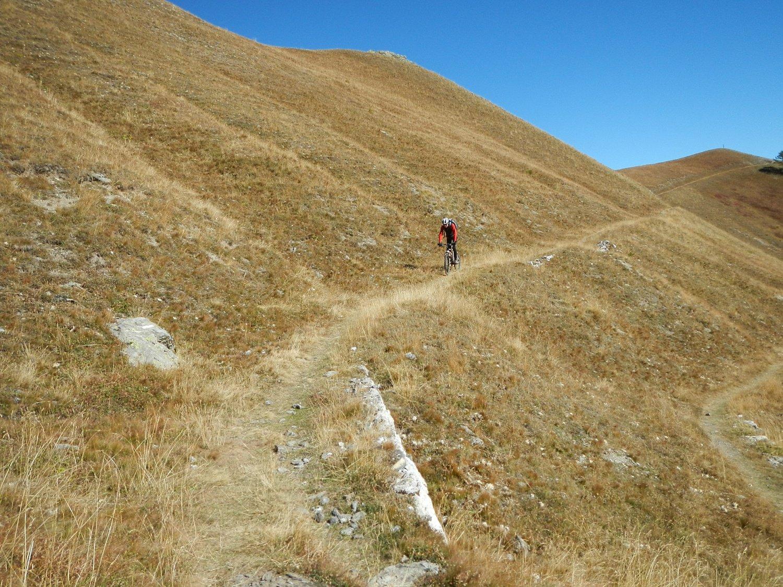 sentiero scorrevole e non difficile