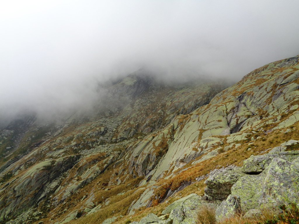oltre i 2200m nebbione