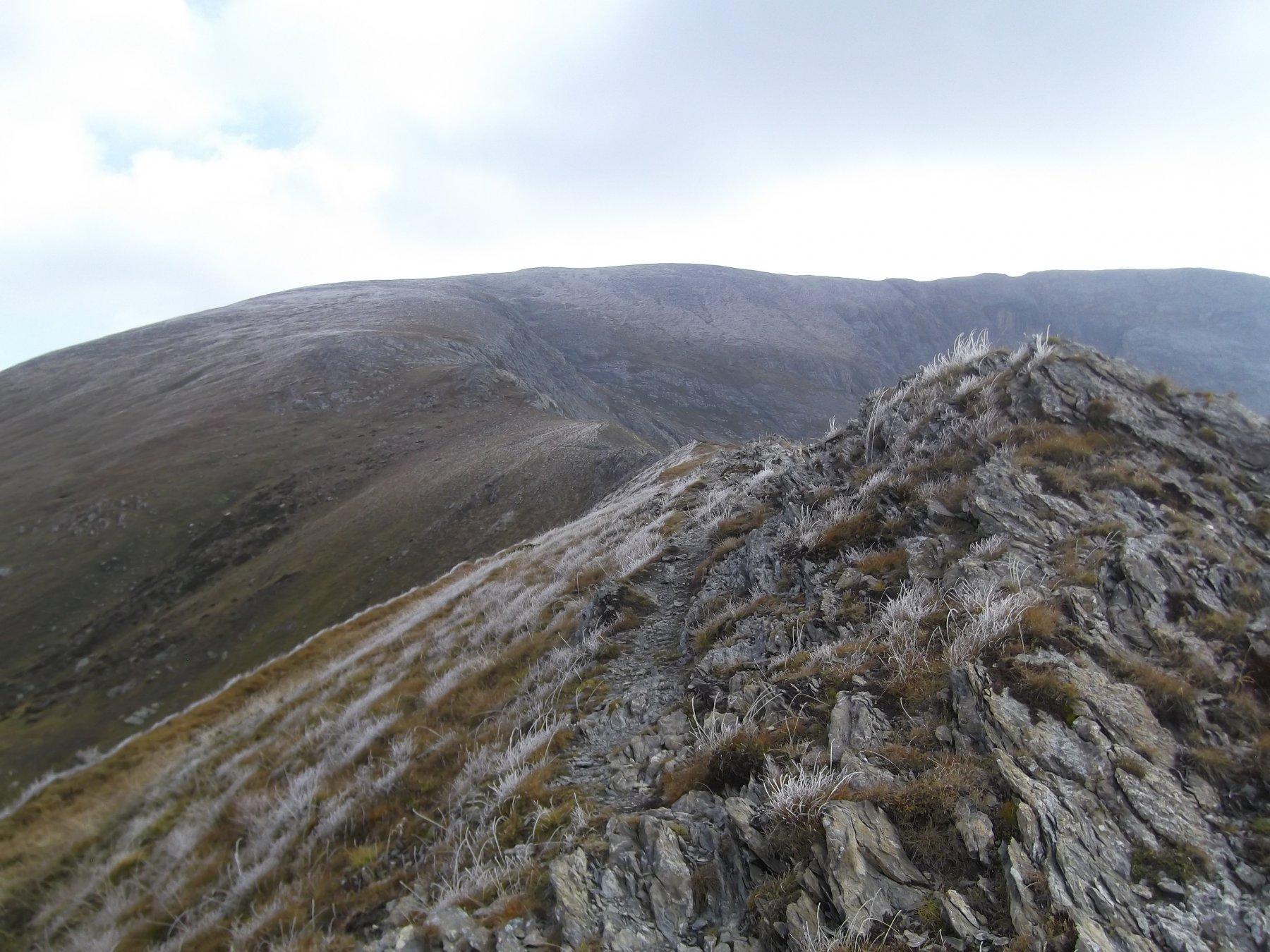 Cima Pian Ballaur dal Col del Pas.