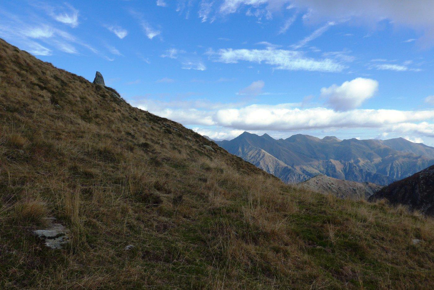 Al colle , panorama sulla val Grande
