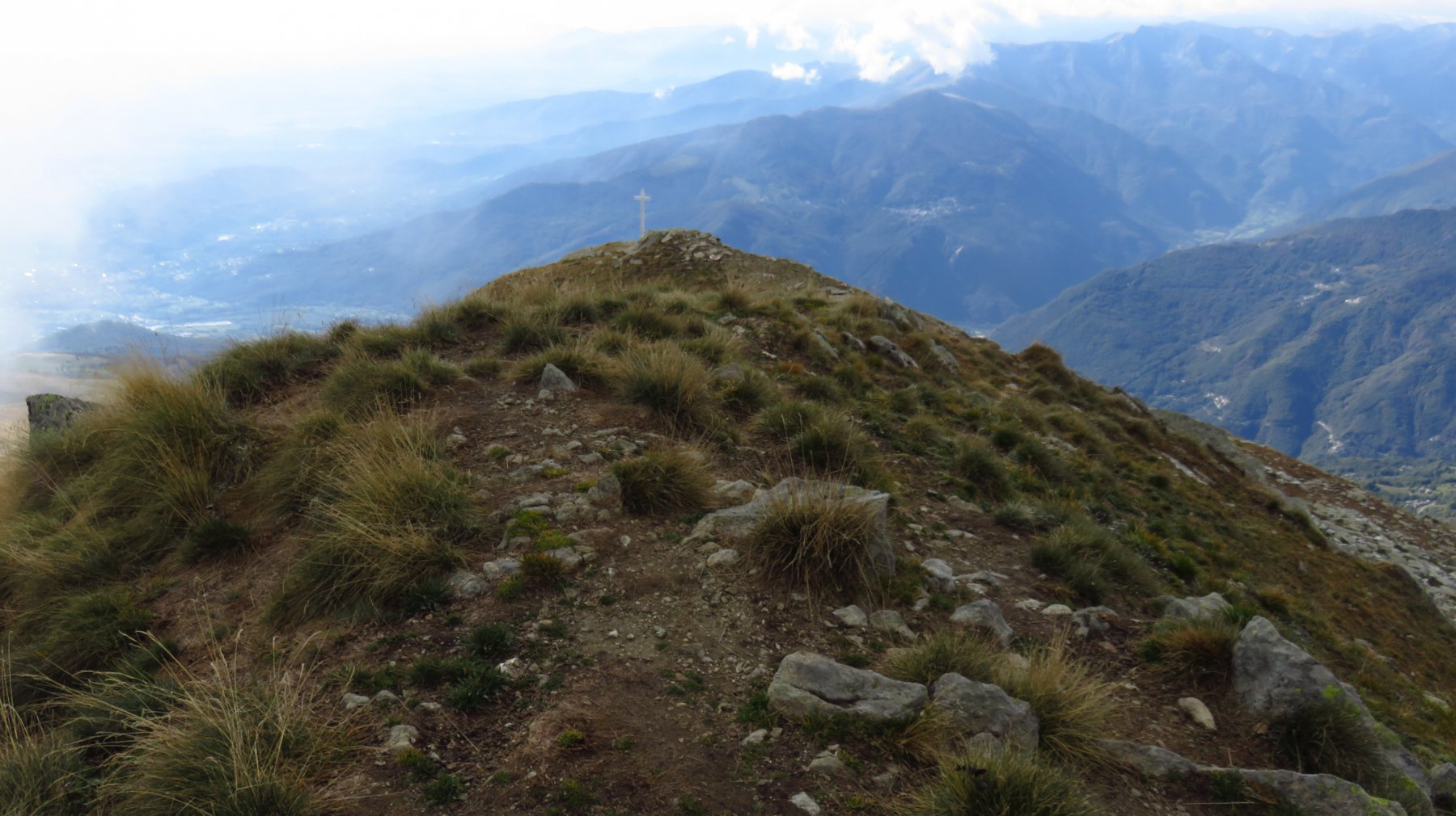 Vista dalla Punta Quinzeina nord