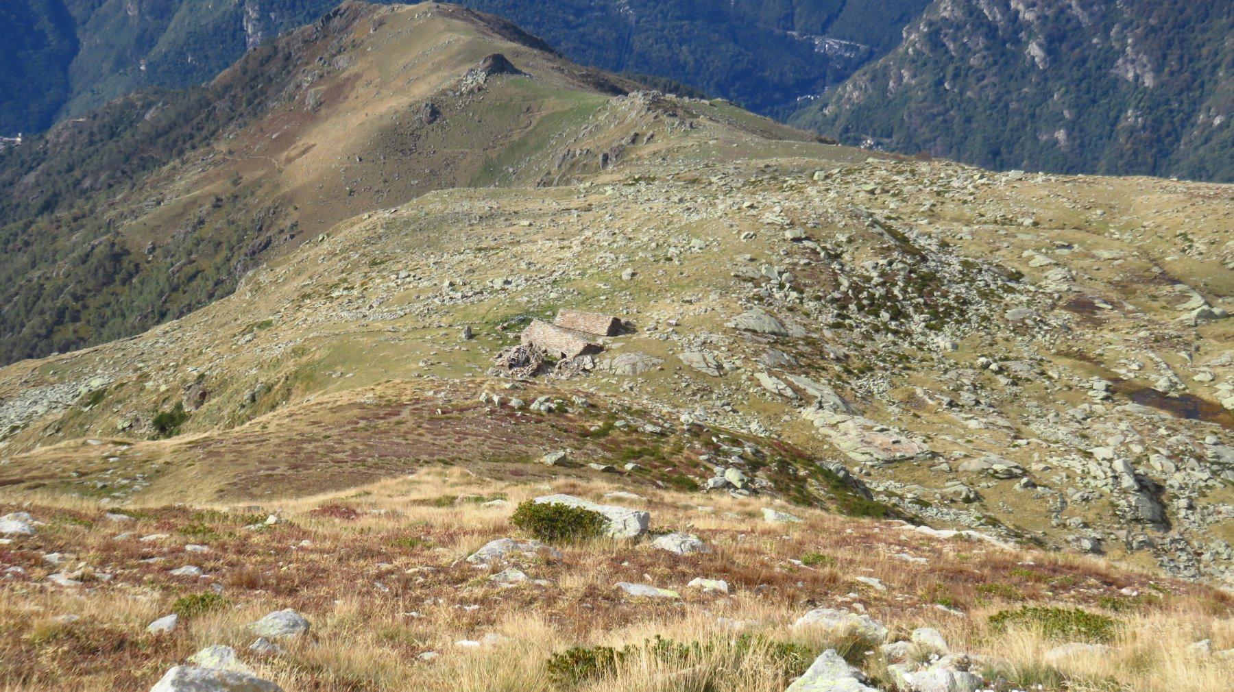 Discesa all'Alpe Lago