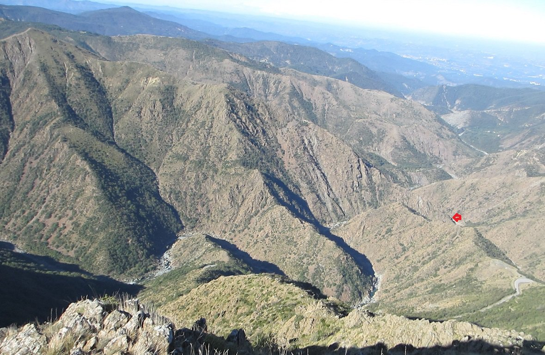 L'inizio della cresta Nord del monte Tugello